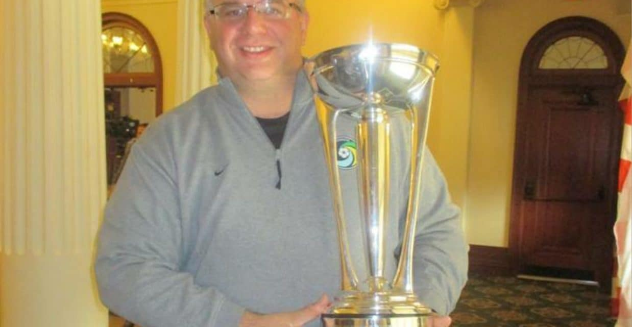 An amazing four years as Cosmos P.A. announcer