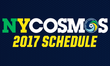 NO FOOLING: Cosmos home opener vs. Miami April 1