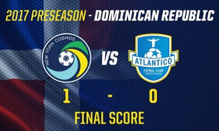 OFF ON THE RIGHT FOOT: Cosmos win preseason opener in Dominican Republic