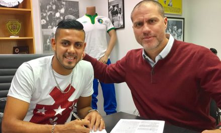 SOME FORWARD THINKING:  Cosmos sign El Salvadoran striker Herrera