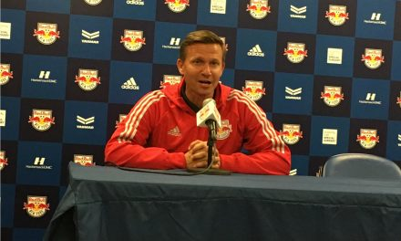 TALKING SOCCER: Marsch on new Red Bulls captain Kljestan