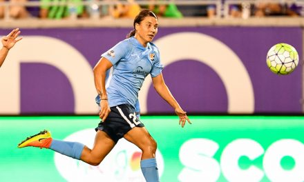 TOP HONORS: Sky Blue FC's Kerr named player of the year in Australia