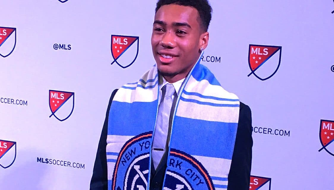 MAKING AN IMPACT NYC FC's Lewis helps U.S. reach U-20 classification stage with win