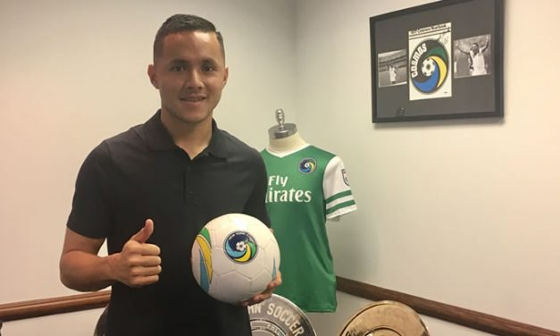 A NEW CHALLENGE: Ex-Cosmos Menjivar signs with Penn FC