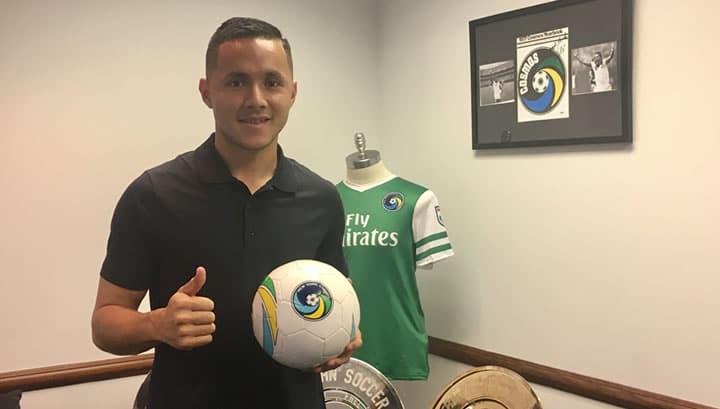 SALVADORAN FLAVOR: Cosmos sign Menjivar, joining Flores, Herrera on the club