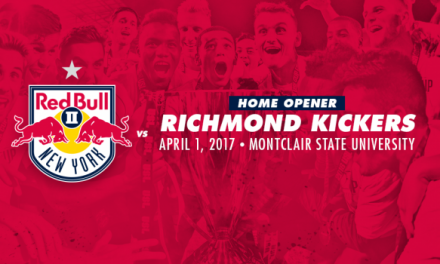 THE SCHEDULE: Red Bulls II to kick off USL season in Pittsburgh