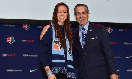 MAKING THE TEAM: Sky Blue GK Sheridan named to Canada Algarve Cup roster