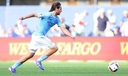 STILL IN THE MIX – FOR NOW: Diskerud on NYC FC roster for Desert Diamond Cup