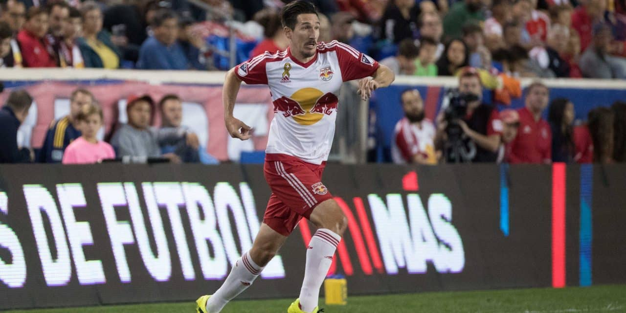 CAPTAIN'S CELEBRATION: Kljestan's 2 goals power Red Bulls over NYC FC