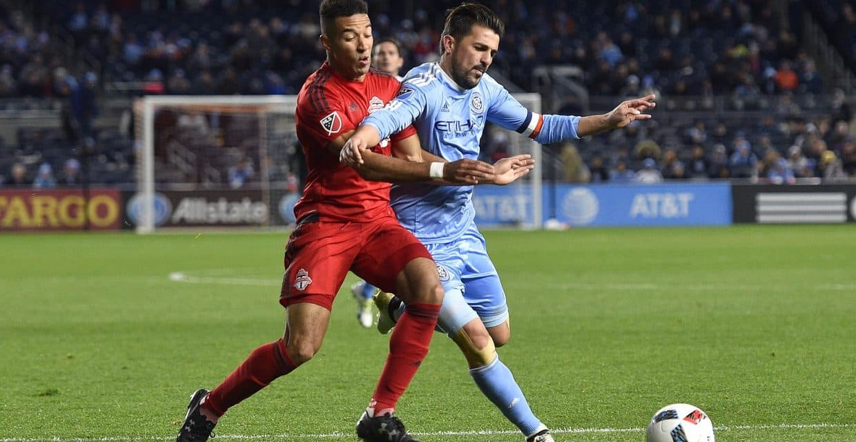 AT DEATH'S DOOR: NYC FC rallies from 2-goal deficit, ties Emelec on stoppage-time goal, 2-2