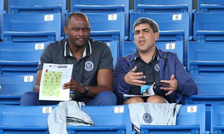 MORE AGGRESSION PLEASE: Vieira says NYC FC needs to come out stronger vs. Philly