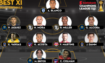 CONCACAF HONORS: Red Bulls' Felipe named to Best XI of CCL quarterfinals 1st leg