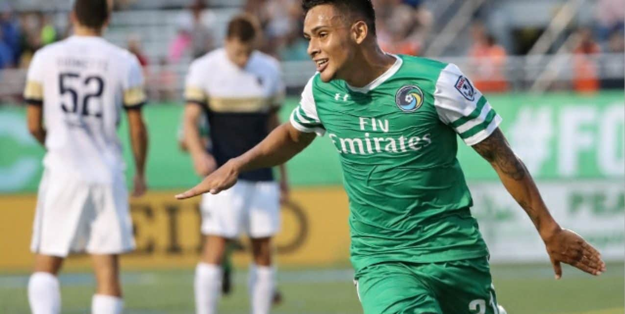 ADDING TO HIS LEGACY: Nine years later, Diosa still making an impact for the Cosmos