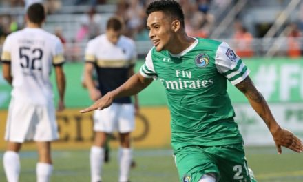 ONTO THE FINAL: Goals by Diosa, Burgos pace Cosmos over San Diego and into NPSL title match