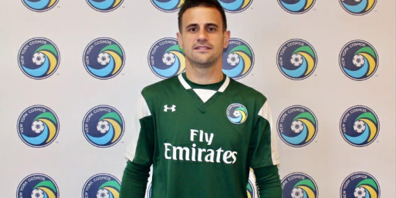 BULKING UP THE MIDFIELD: Cosmos sign Spain's Javi Marquez