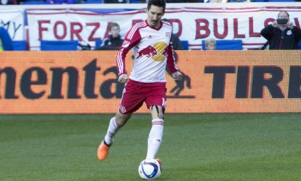 LOOK WHO'S THERE: Venezuelan youth international Cristian Casseres among 35 players in Red Bulls camp