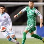 OH DANNY, BOY: Szetela on the verge of playing 100th game with the Cosmos