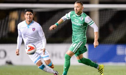 FAILURE ISN'T AN OPTION: After perfect regular season, Cosmos B eyes NPSL crown