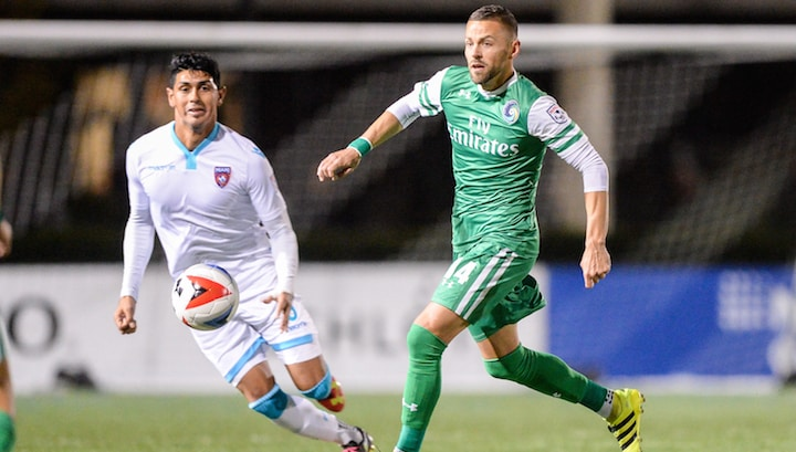 THINKING OF HANGING THEM UP: Cosmos captain Szetela considers retirement in wake of team hiatus