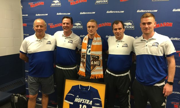 A DYNAMO OF A PLAYER: Ex-Hofstra star Holland signs with Houston