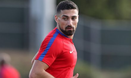 A HAPPY RETURN: Lletget sparks U.S. men's win