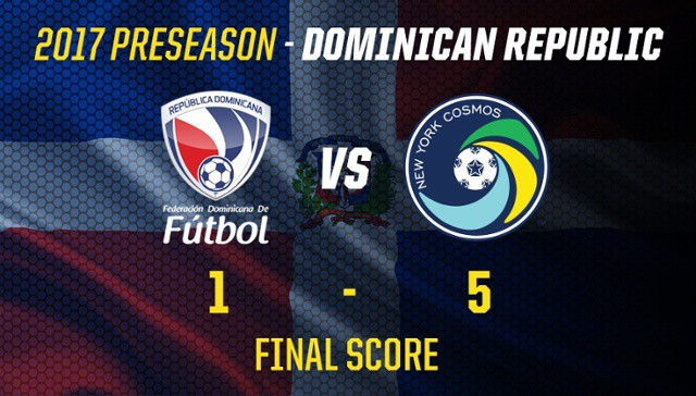 A PERFECT SLATE: Cosmos end Dominican Republic tour at 3-0 after 5-1 win over national team