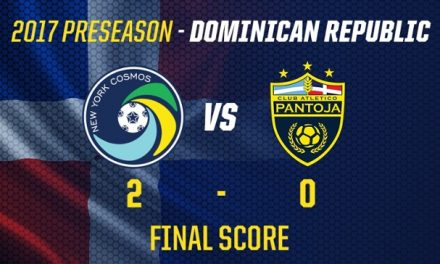 KEEPING IT CLEAN: Cosmos blank Dominican Republic champion Atletico Pantoj