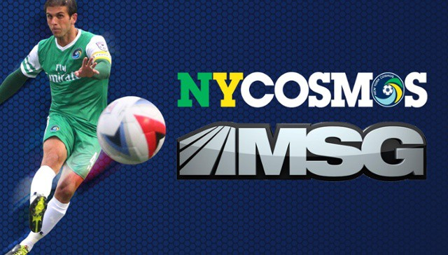 A STEP UP, A WIDER AUDIENCE: Cosmos make their debut on MSG Networks tonight