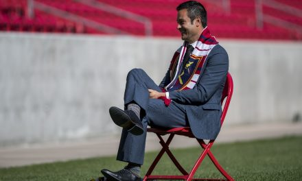 STAYING OUT OF THE WAY: Petke won't take over Real Salt Lake's coaching reins until Sunday