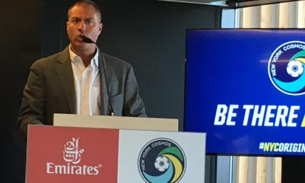 AND YOU CAN QUOTE HIM: Savarese on the Cosmos' home defeat
