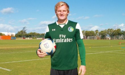 BULKING UP THE ATTACK: Cosmos sign striker Starikov, midfielder Alhassan