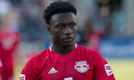 INTERNATIONAL DUTY: Red Bulls' Etienne, Jr. (Haiti), Murillo (Panama) called in