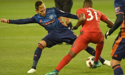 NYC FC INJURY REPORT: Only Lopez (ankle), Lewis (int'l duty) are missing