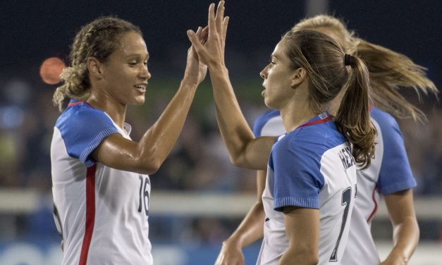 MAKING HER POINT: Williams' 2nd international goal gives U.S. victory over Germany in SheBelieves Cup