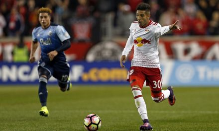 NOT THIS WEEK: Hamstring expected to keep Veron on the sidelines; Sacha: Red Bulls devastated for Baah