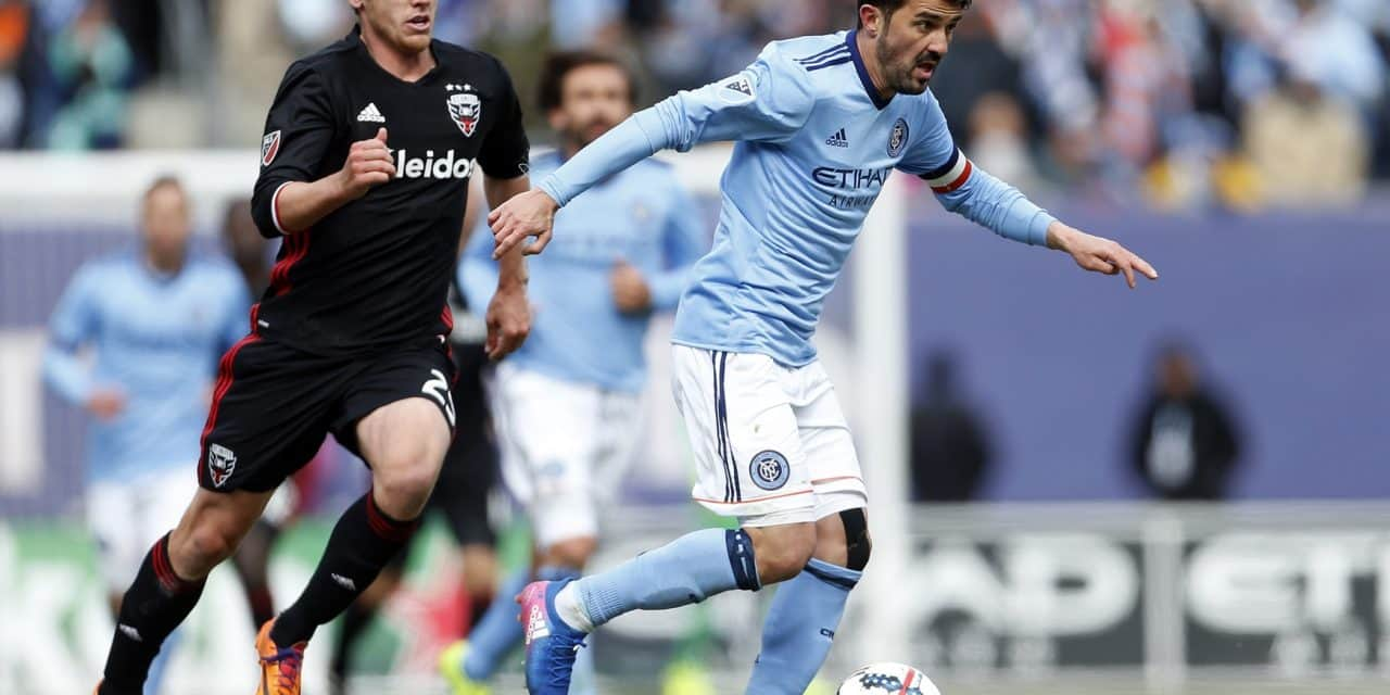 DOUBLING HIS PLEASURE: David Villa named FrontRowSoccer's winner of player, goal of the week