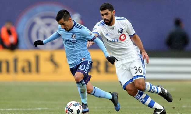 MANY CHANCES, ONLY ONE GOAL: NYC FC endures one frustrating, blustery afternoon at Yankee Stadium