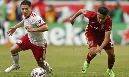 LADE BACK AT RIGHT BACK: Red Bulls defender does well in 1st game since knee injury