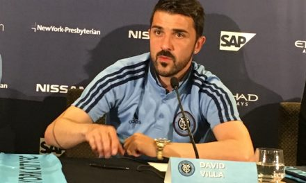 HANGING UP HIS BOOTS: Villa to retire in January
