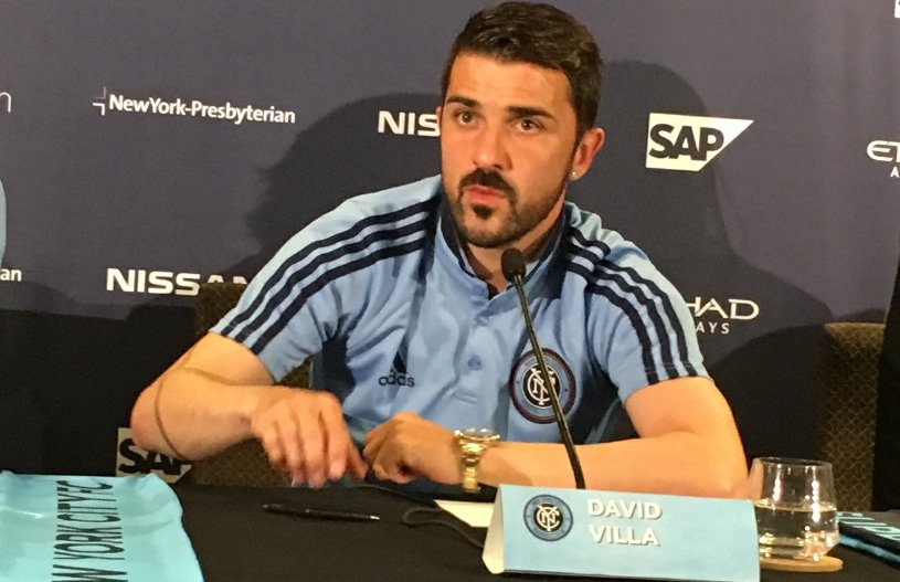 'I AM IN A DREAM RIGHT NOW': Villa on getting called into Spain