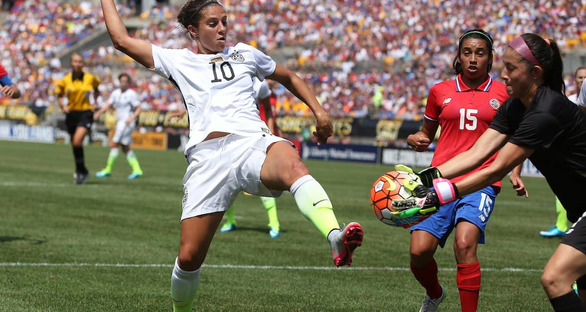 A FRENCH KISS OFF: France routs U.S. women at SheBelieves Cup finale, 3-0