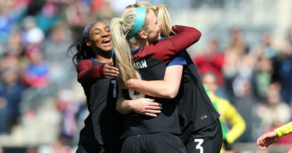 THEY'RE NOT NO. 1: Germany replaces U.S. women atop FIFA rankings