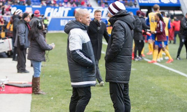 ARMAS IN CHARGE: Red Bulls assistant coach runs the show while Marsch is away