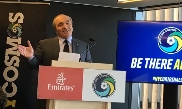 A COSMOS THANKSGIVING: Commisso pledges he will pay club's salaries at least through Dec. 31