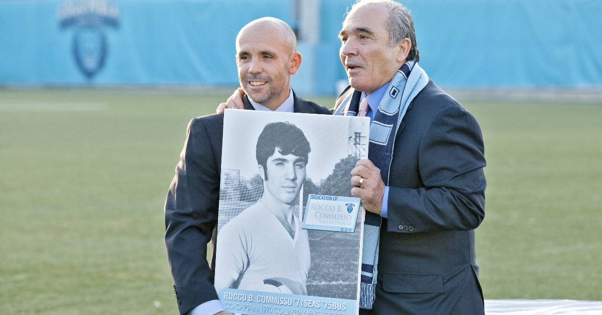 THE DRIVING FORCE: Commisso's passion helps fuel Columbia soccer, which he hopes to duplicate for the Cosmos