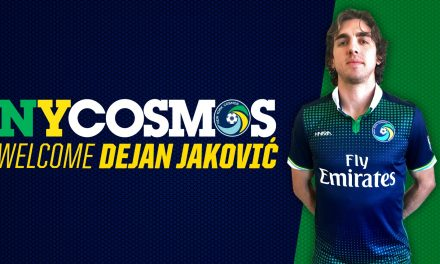BULKING UP: Cosmos sign defender Jakovic, midfielder Ledesma