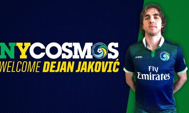 BULKING UP: Cosmos sign defender Jakovic, midfielder Ledesma
