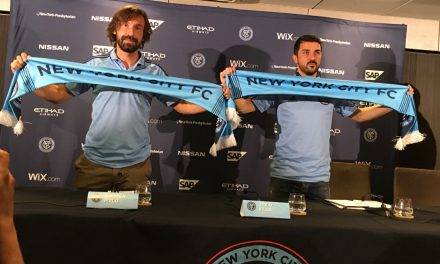 NO RETIRING THOUGHTS — YET: NYC FC's Pirlo, Villa don't know if 2017 will be their last