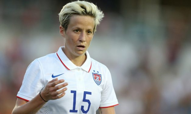 RAPINOE ON THE RIOT: 'We showed very much our true colors' and 'a huge stain on our country'