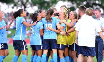 PRESEASON BEGINS Sky Blue starts training, unveils its roster